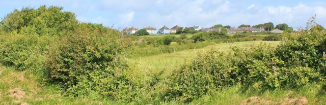 15 Castlemartin, Ruth walking the Pembrokeshire Coast Path