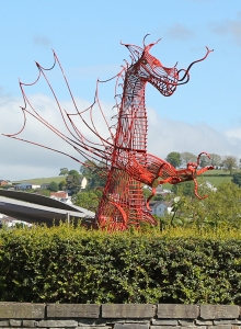welsh dragon, Carmarthen, Ruth Livingstone