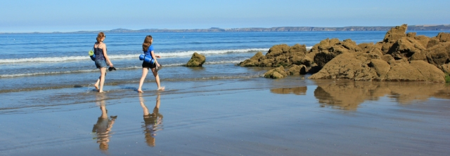 03 wading to Broad Haven, Pembrokeshire Coast