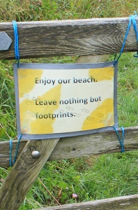 04 leave nothing but footprints, Ruth Livingstone's coastal walk