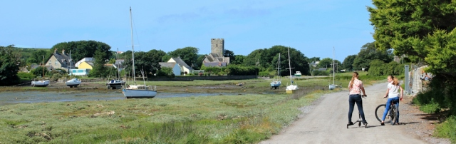 East Angle Bay and Angle Church, Ruth Livingstone