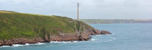06 navigation light, West Blockhouse Point, Ruth's coastal walk, Pembrokeshire