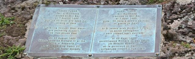 09 Henry Tudor landed Mill Bay, Ruth Livingstone