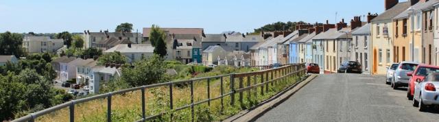 14 Neyland, Ruth Livingstone walking Pembrokeshire Coast Path