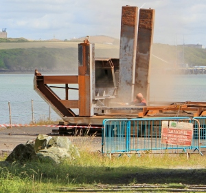 grit blasting, Milford Haven, Ruth Livingstone