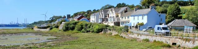 16 Llanstadwell, Ruth walking the Pembrokeshire Coast Path