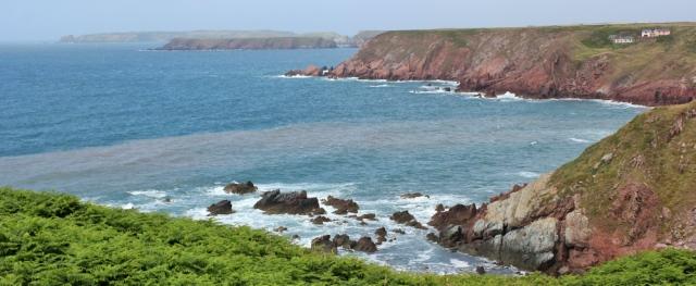 16 rugged coast, near Dale, Ruth in Wales