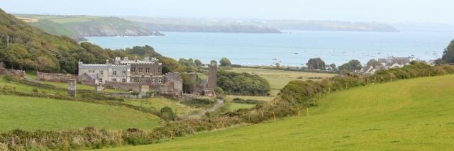 17 Dale Castle, Ruth walking in Pembrokeshire