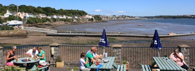 17 Ferry Inn, Hazelbeach, Ruth walking the Wales Coast Path, Pembrokeshire
