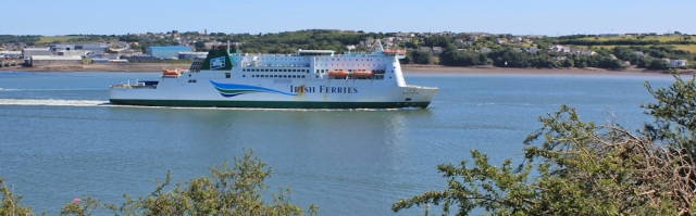 18 Irish Ferry, Ruth Livingstone, Pembroke Dock