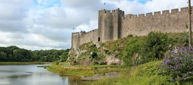 Pembroke Castle, Ruth Livingstone, travel in Wales