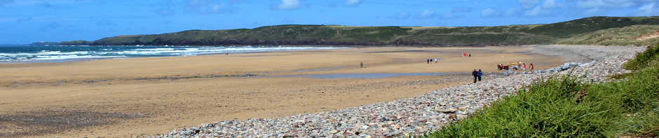 Header, Ruth Livingstone in Freshwater West