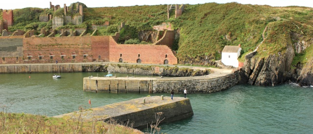01 Porthgain harbour, Ruth Livingstone's coastal walk