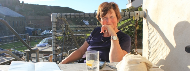 slimline tonic, Ruth in Porthgain