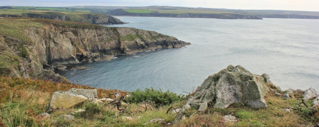 b08 view from Penbwchdy, Ruth's coastal walk in Pembrokeshire