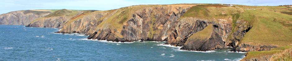 header, Ceibwr Bay, Ruth Livingstone