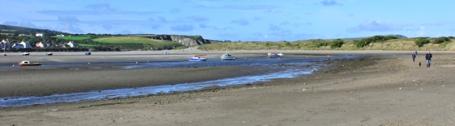 06 mouth of estuary, Newport, Ruth's coastal walk