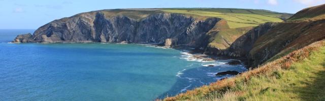 06 Pen yr Afr, Ruth's coastal walk in Wales