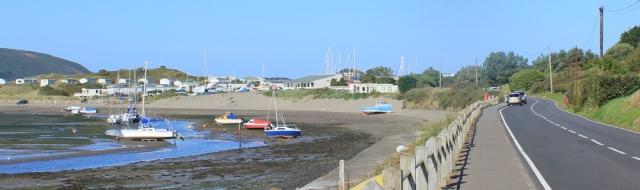 06 road to Gwbert, Ruth's coastal walk in Cardiganshire