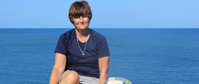 10 lunch break, Ceredigion Coast Path, Ruth Livingstone