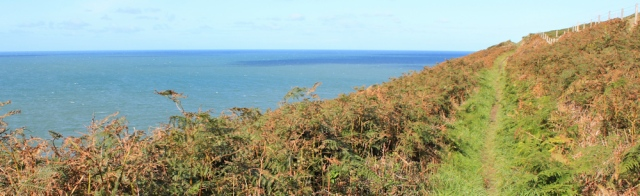 12 Coastal walking, Pembrokeshire, Ruth