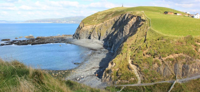 16 war memorial, Borth, Ruth's coast walk in Wales