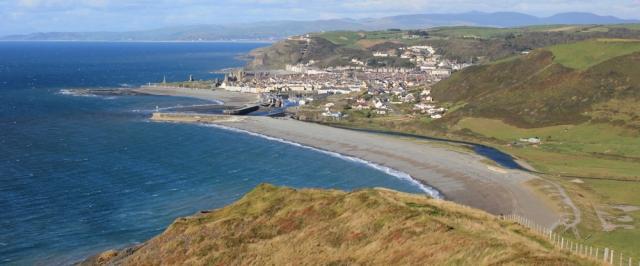 Aberystwyth, Ruth Livingstone, coastal walker
