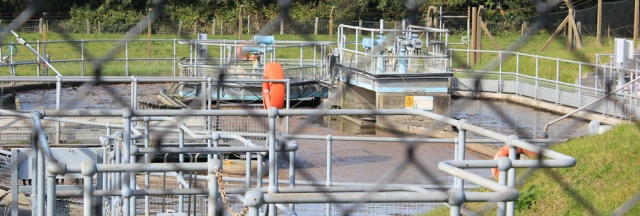 22 open sewage works, Llanrhystud, Ruth Livingstone