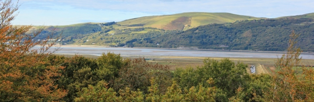 view across River Dovey, Ruth on the Wales Coast Path