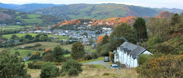 Wales Coast Path into Machynlleth, Ruth Livingstone