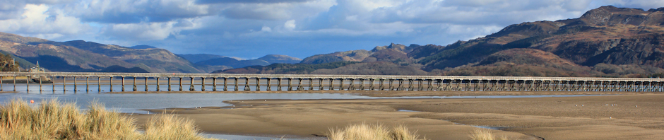 Barmouth Bridge - Ruth's coastal walk, Wales