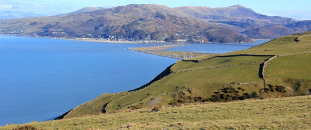 04 looking towards Barmouth, From Wales Coast Path, Ruth's coastal walk