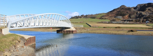 08 new footbridge across Afon Dysynni, Wales Coast Path, Ruth Livingstone