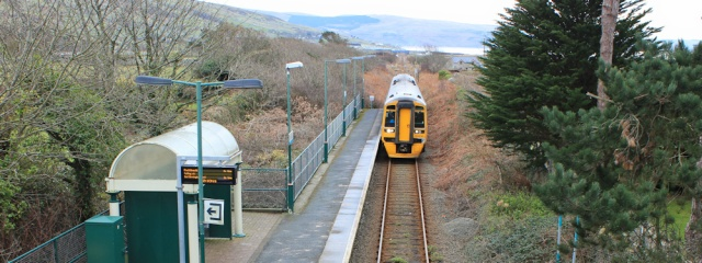 Station at Tyddyn Goronwy, Ruth on Wales Coast Path