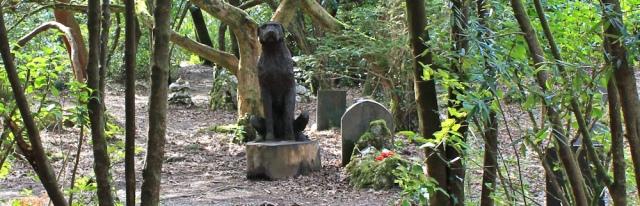 dog graveyard, Ruth Livingstone in Portmeirion
