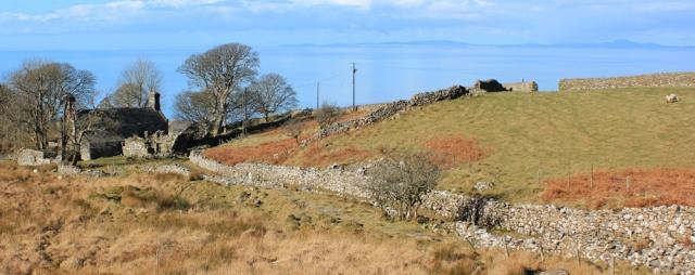 14 Cyfannedd Fawr, Ruth on the Wales Coast Path, above Fairbourne