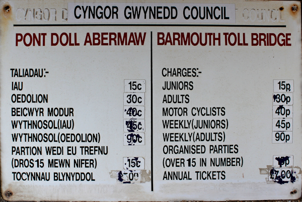 26a charges, Barmouth Bridge, Ruth Livingstone