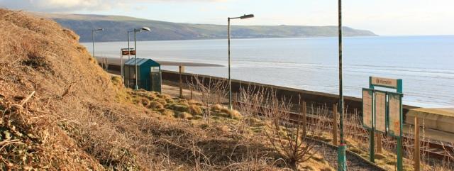 31 Llanber Station, Ruth's coastal walk in Wales