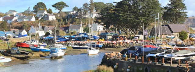 01 marina at Abersoch, Ruth's coastal walk, Wales