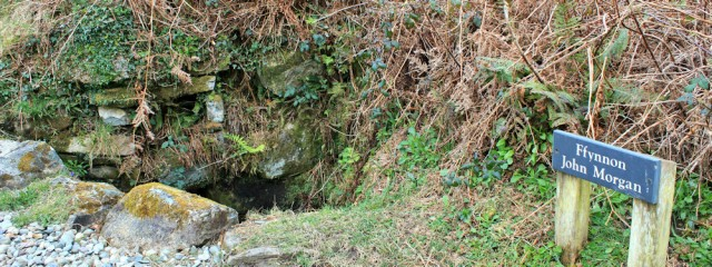02 John Morgan's well, Ruth Livingstone in Wales