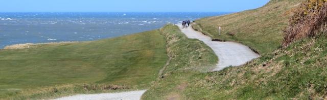 03 private road to Trwyn Porth Dinllaen, Ruths coastal walk