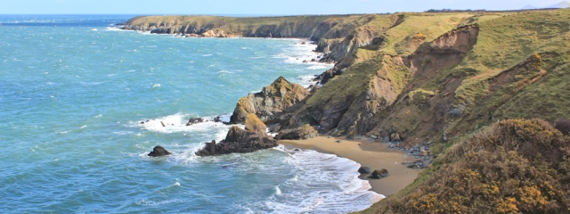 06 coastline, north side Llyn Peninsula, Ruth Livingstone