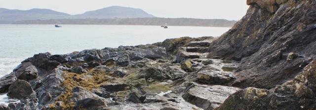 07 rocky path, Porth Dinllaen, Ruth's coast walk, Wales