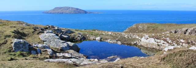 08 Bardsey Island from Pen Y Cil, Ruth Livingstone