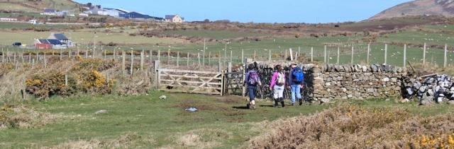 10 walking the Llyn Peninsula, Ruth Livingstone