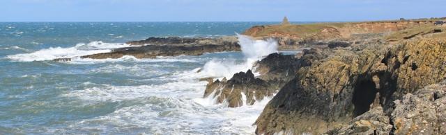 12 Porth Ysgaden, Ruth walking the Wales Coast Path, Llyn