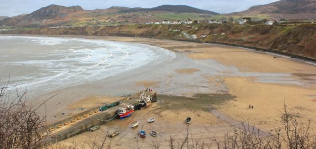 13 Porth Nefyn, Ruth walking the Wales Coast Path, Pen Llyn