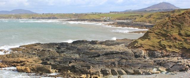 13 Porth Towyn, Ruth hiking the coast, Llyn, Wales