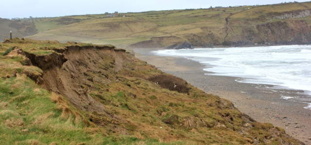 17 landslips, Wales coast path, Hell's Mouth, Ruth Livingstone