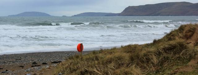 19 boiling sea, Hell's Mouth, Porth Neigwl, Ruth's coastal walk